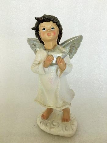 335 Anjel biely 18cm